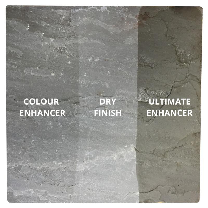 Sandstone/Natural Stone Sealer U0027COLOUR ENHANCEDu0027 Finish