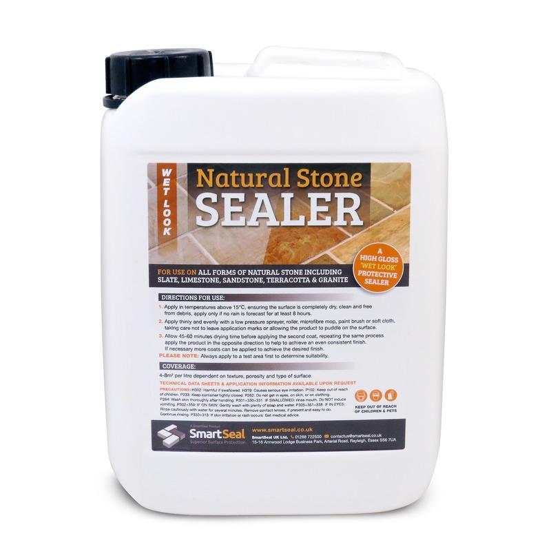 Sandstone/Natural Stone Sealer   U0027WET LOOKu0027 Finish