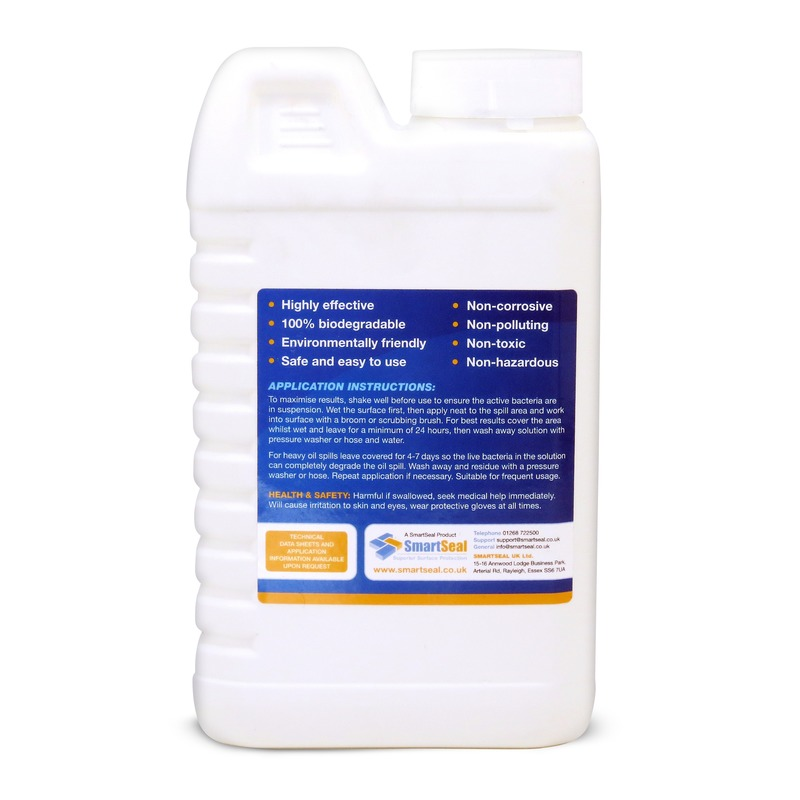 Oil remover for block paving removes oil stains from for Concrete cleaner oil remover
