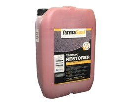 Tarmac Restorer - RED (Sample, 5 & 20 L) High quality Tarmac sealer replaces lost resin & colour; easy to apply