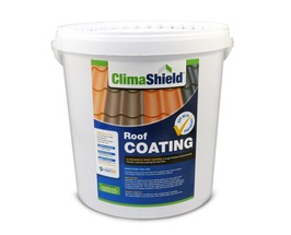 Roof Coating (Climashield Pro)  Helps Reflects Heat from Roof Tiles