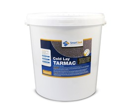 Cold Lay Repair Tarmac / Asphalt (12.5 kg & 0.25 ltrs primer) - Available in BLACK or RED - Repairs Holes in Tarmac and Asphalt Surfaces