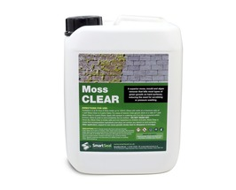 MOSS CLEAR -  POWERFUL Moss  & Algae Remover ( 5 & 25 litre)  Safe & Easy to Use - DRIVES - ROOFS - PATIOS - TARMAC