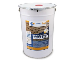BLOCK PAVING - Polyurethane  Ultra DURABLE Sealer - Oil, Fuel and Stain Resistant - Solidifies Jointing Sand (sample 5 & 23L)