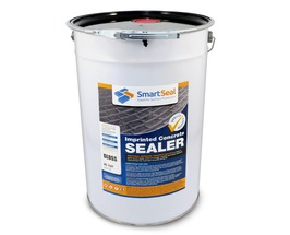 Imprinted Concrete Sealer - Gloss Finish (Sample, 5 & 25 litre) - High Protection, 1 Coat ONLY Sealer