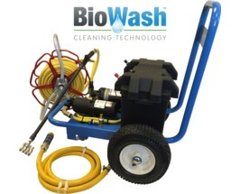 Biowash Delphin Cleaning Machine - Electrically powered
