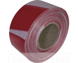 Red & White Driveway Barrier Tape