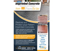 Imprinted Concrete Sealing - Flyers