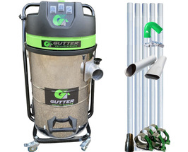 3000  watt Gutter Cleaning System with Aluminium Poles - GREAT PRICE!! -  80L Capacity, Powerful, Fast, Reliable  & Easy to Use