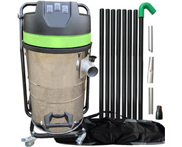 3000  Watt Gutter Cleaning System with Carbon Fibre Poles, High Quality,  Superb Value!! 80L Capacity- Easy, Fast & Powerful