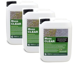 Moss Clear - 3 x 5 Litre **SPECIAL OFFER** - BUY 3 FOR LESS THAN THE PRICE OF 2 - JUST SELECT THIS OFFER & YOU WILL RECEIVE 3 X 5 Litre