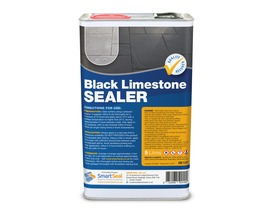 BLACK LIMESTONE SEALER - Transforms, Re-Colours, Seals Tired SLATE & LIMESTONE Highly Effective & Durable