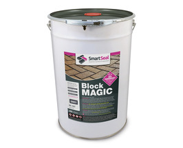 'BLOCK MAGIC' Sealer GREY  (sample 5 & 25 L) Re-colour Old Block Paving -  ALWAYS- Apply 2nd coat of CLEAR Sealer