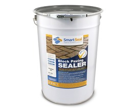 'BLOCK MAGIC' Sealer GREY  (sample 5 & 25 L) Re-colour Old Block Paving -  ALWAYS- Apply 2nd coat of CLEAR Sealer