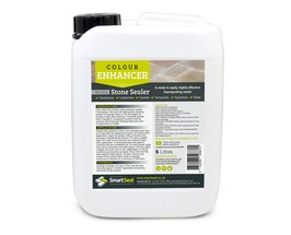 Natural Stone Sealer 'COLOUR-ENHANCER' Finish - High Quality, Impregnating, Durable Sealer for Sandstone**(see exceptions below), Limestone, Slate, Granite & more