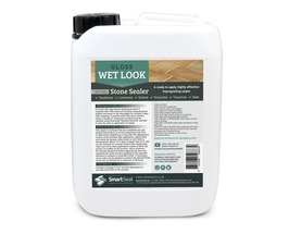 Natural Stone Sealer - 'WET LOOK' - Apply Fine Coats by Sprayer, Sponge or Cloth. **Not Suitable for Polished or Kandla Grey Sandstone