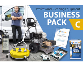 DRIVEWAY CLEANING BUSINESS (Package C) Professional Cleaning Equipment - PLUS Expert TRAINING & Marketing Tools for DRIVES