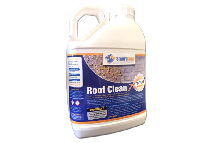 Powerful Roof Cleaner Quick Amp Easy Clean Moss Algae Dirt