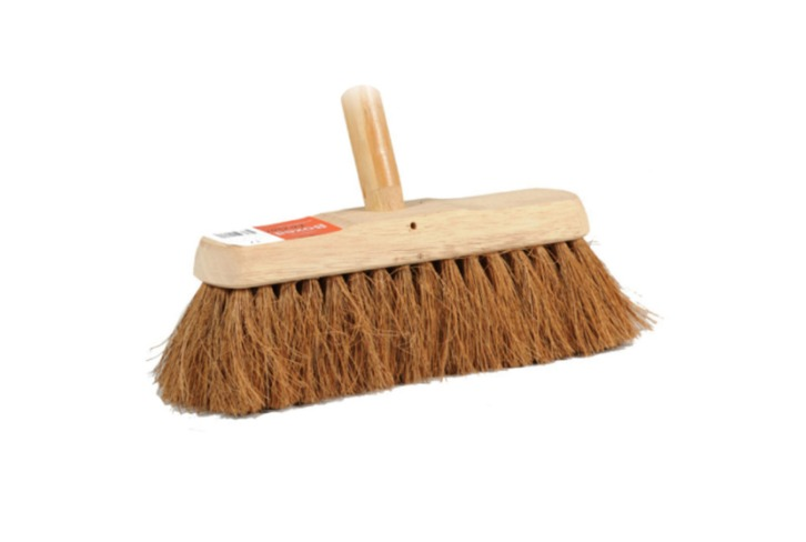 "10"" Imprinted Concrete Sealing Broom. Allow to dry after use. Soak in sealer to soften before re-use."