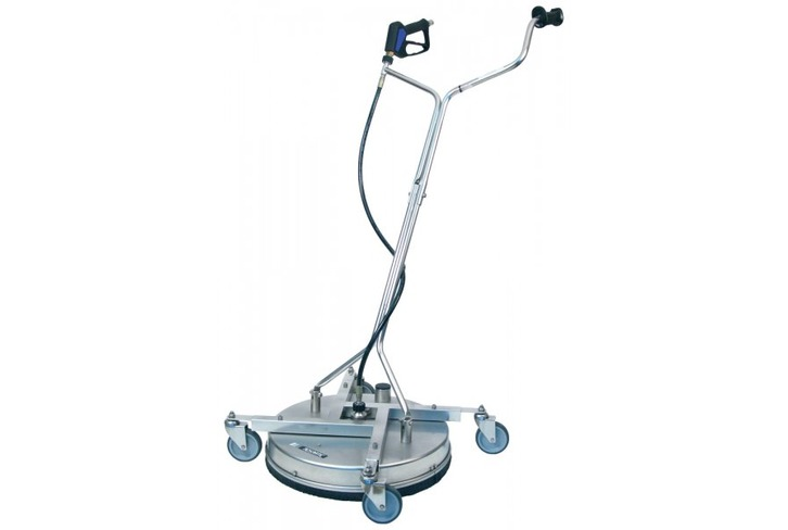 "21"" Mosmatic Stainless Rotary Headed Cleaner with vacuum recovery"