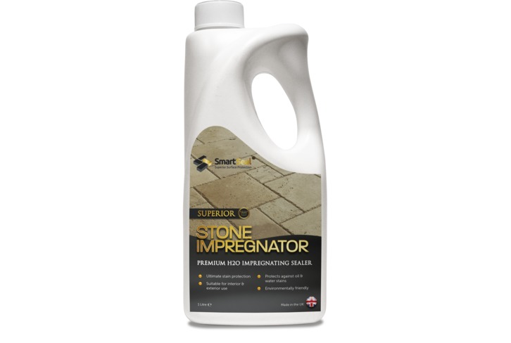 Natural Stone Impregnator SOLVENT FREE -  Durable stone sealer for natural stone floors, walls & worktops, giving a matt finish