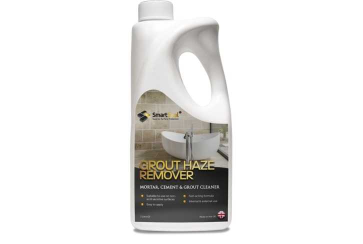 Grout Haze Remover to remove grout and cement residue from tiles