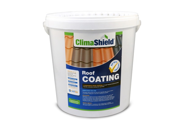 Roof Coating - 20 litres (Climashield) Transforms Old Concrete Tiles - Colours & Seals *Sample Pack Available*