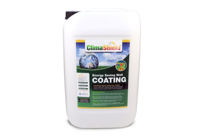 Climashield Energy Saving Wall Coating