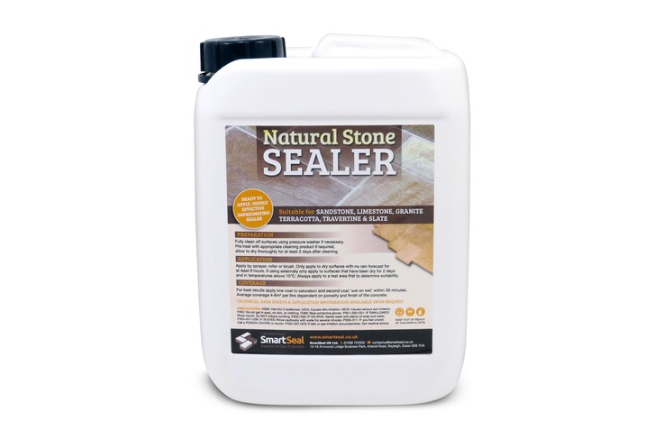 Sandstone/Natural Stone Sealer 'DRY' Natural Finish
