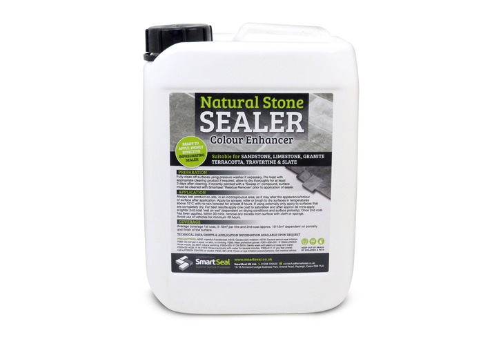 Travertine Tile Sealer - Enhanced Finish  (Available in 1 & 5 litre)