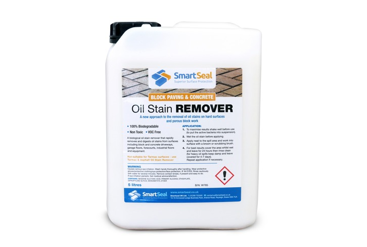 Oil Remover for Block Paving & Concrete (5 Litre) **Not suitable for use on synthetic oil spills** Please see product description.