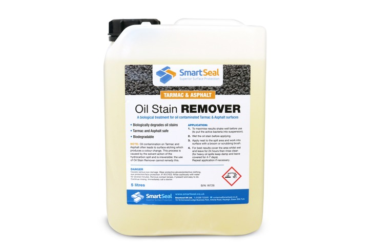 Oil Remover for Tarmac and Asphalt Surfaces (5 Litre)