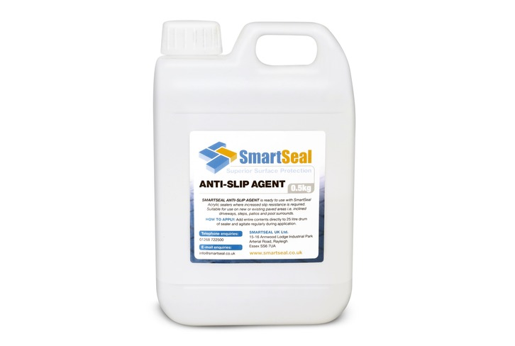 Anti-Slip Additive for Solvent Based Concrete Sealers