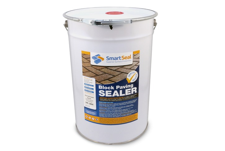Block Paving Sealer - Polyurethane (Ultra Durable) -  Sample, 5 & 23 litres - Solidifies Jointing Sand - Stain Resistant