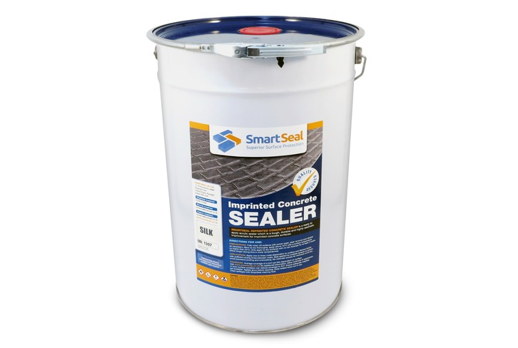 Patterned Imprinted Concrete Sealer - Silk Finish