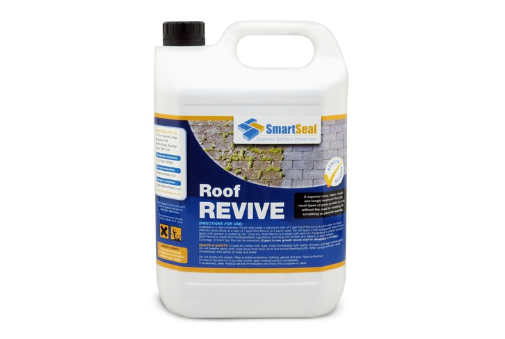Roof Moss Remover (5 Litre) - Roof moss killer & algae remover for roofs.