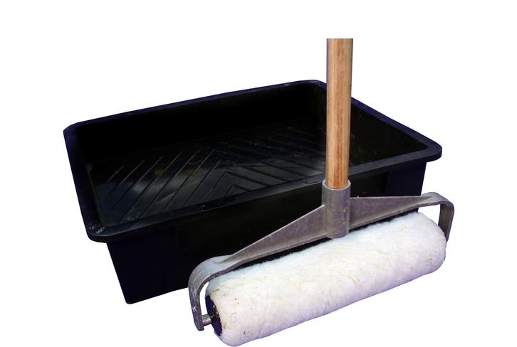 Professional Roller Kit with Long Handle and Wide Tray