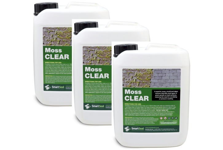 "Moss Clear - 5 Litre **SPECIAL OFFER - BUY 3 FOR LESS THAN THE PRICE OF 2!**PLEASE NOTE: BY SELECTING ""QUANTITY of 1"" OF THIS OFFER YOU WILL RECEIVE 3 X MOSS CLEAR - 5 LITRE**"