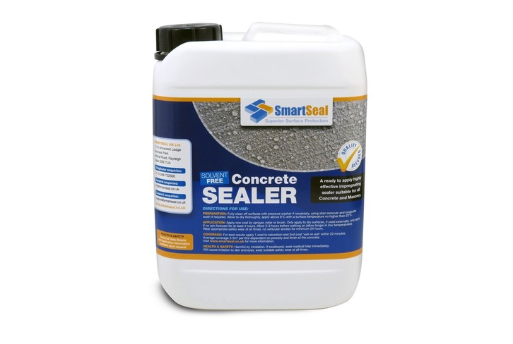 Premium Concrete Sealer, Breathable & Impregnating; Solvent Free; Food Safe