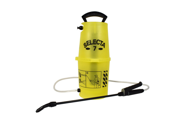 'Selecta 7' Sprayer IDEAL for NATURAL STONE Sealers and CLEANING & MOSS Removal Products (5 litre capacity)