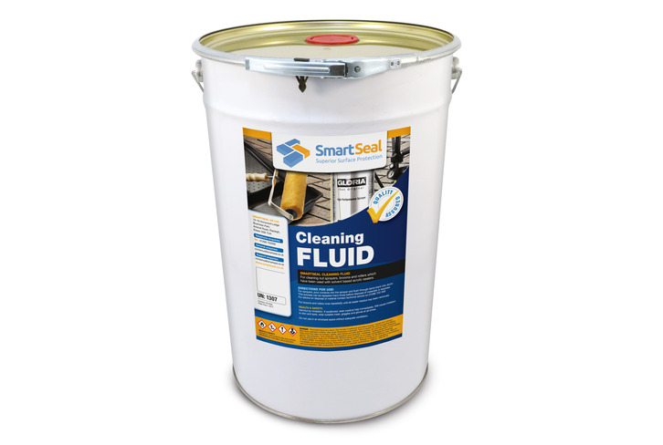 Cleaning Fluid to Flush Solvent Based Sealer Residue from Sprayers
