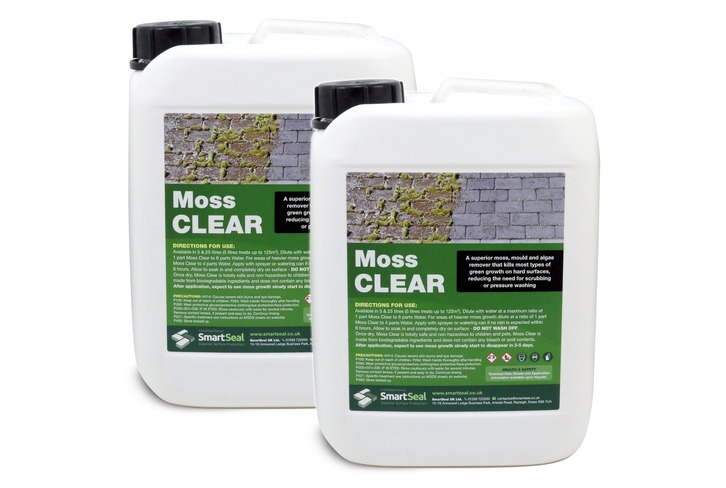 "Moss Clear - 5 Litre - **BUY ONE, GET ONE LESS THAN HALF PRICE!**PLEASE NOTE: BY SELECTING ""QUANTITY of 1"" OF THIS OFFER, YOU WILL RECEIVE 2 X MOSS CLEAR - 5 LITRE**"