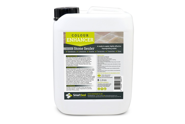 Travertine Tile Sealer - Enhanced Finish  (Available in 1 & 5 litre)