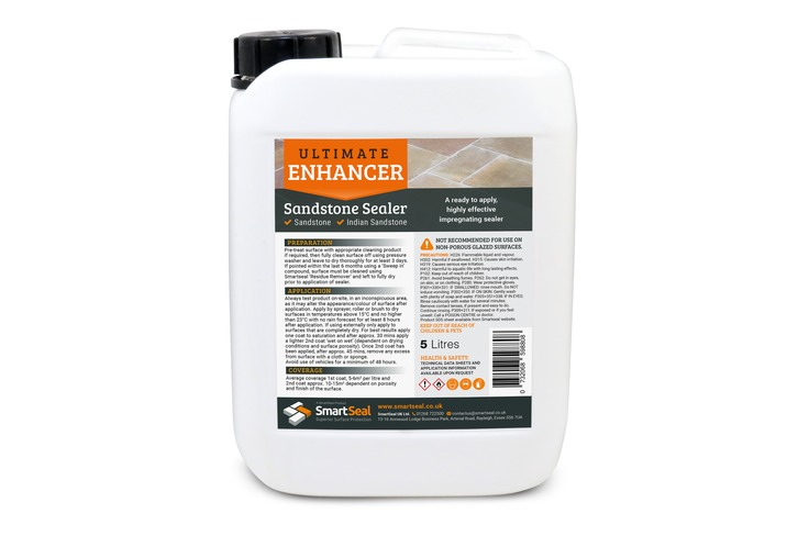 Natural Stone Sealer - Ultimate Colour Enhancer for Sandstone**(see exceptions below) (Sample, 1, 5 & 25 Litre) - NOT recommended for use on Limestone, Granite or Slate