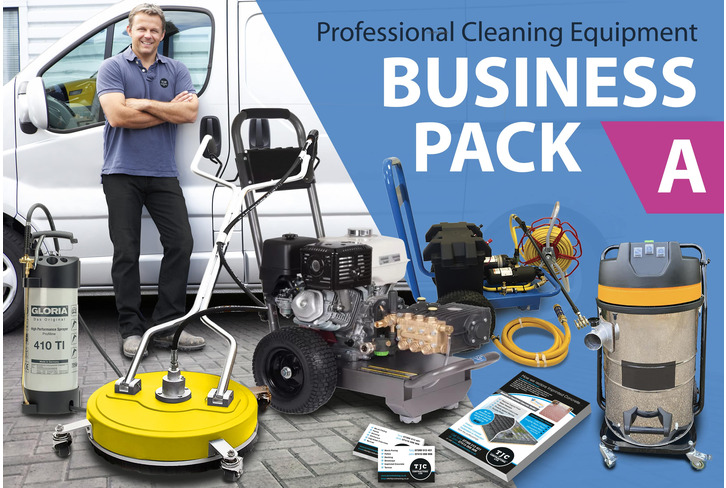 START UP BUSINESS (Package A)  Full Professional  Cleaning Equipment - PLUS Expert TRAINING & Marketing Tools for DRIVES, ROOFS & GUTTERS