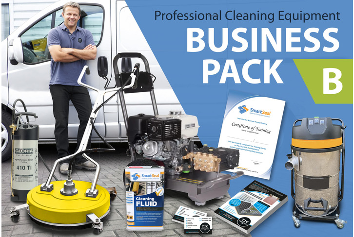 DRIVEWAY & GUTTER CLEANING BUSINESS (Package B) Professional  Cleaning Equipment - PLUS Expert TRAINING & Marketing Tools for DRIVES & GUTTERS