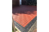 'BLOCK MAGIC'  Sealer RED  (sample 5 & 25 L) Re-colour Old Block Paving -  ALWAYS- Apply 2nd coat of CLEAR Sealer